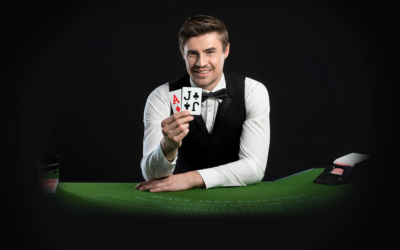 Blackjack dealer